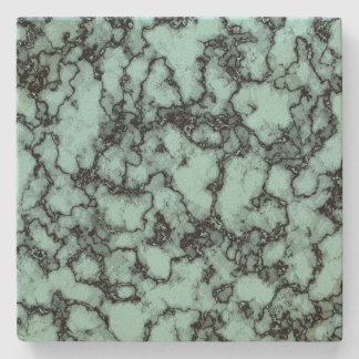 Turquoise Marble Pattern Stone Coaster