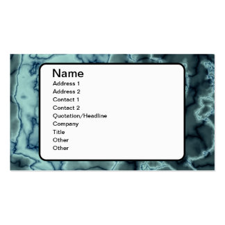 Turquoise Marble Texture Business Card Templates