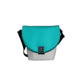Turquoise Messenger Bag