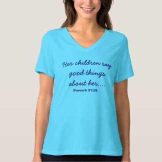 Turquoise Mother's Day shirt