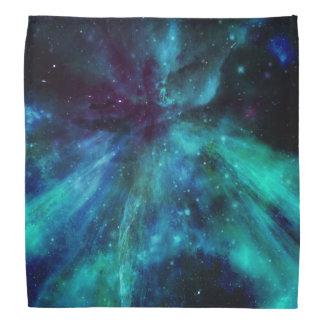 Turquoise N Purple Nebula Bandana