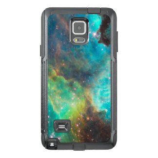 Turquoise Nebula and Stars OtterBox Samsung Note 4 Case