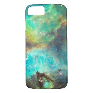 Turquoise Nebula iphone 7 Case