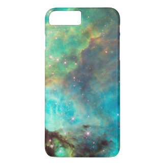 TURQUOISE NEBULA iPhone 8 PLUS/7 PLUS CASE