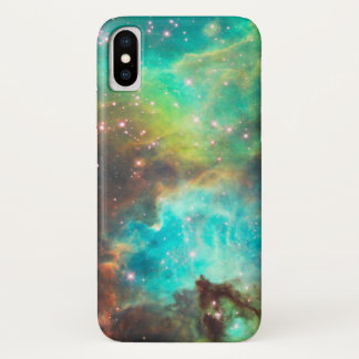TURQUOISE NEBULA iPhone X CASE