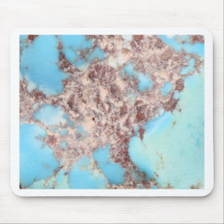 Turquoise Nugget Mouse Pad