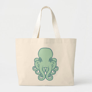 Turquoise Octopus Bags