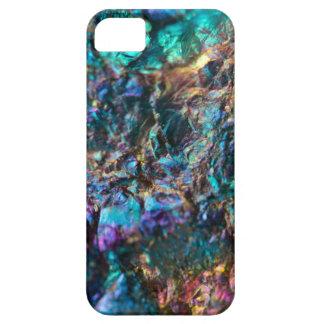 Turquoise Oil Slick Quartz iPhone 5 Cover