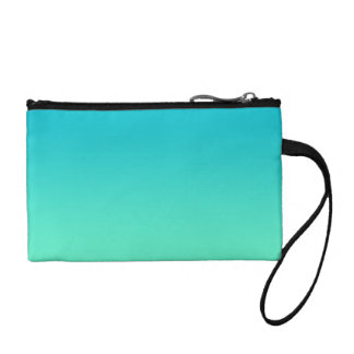 Turquoise Ombre Coin Purses