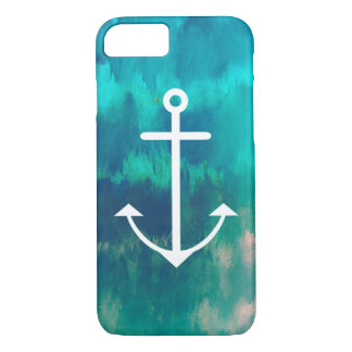 Turquoise Ombre Nautical iPhone 8/7 Case