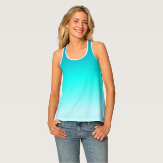 Turquoise Ombre Singlet