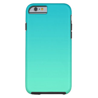 Turquoise Ombre Tough iPhone 6 Case
