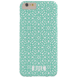 Turquoise ornament iPhone 6/6s Plus, Barely There Barely There iPhone 6 Plus Case