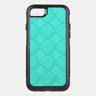 Turquoise Pattern OtterBox Commuter iPhone 7 Case