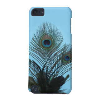 Turquoise Peacock Feathers iPod Touch Speck Case