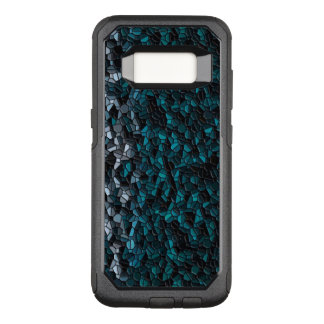 Turquoise Pebbles OtterBox Commuter Samsung Galaxy S8 Case