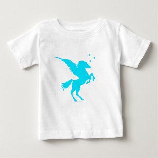 Turquoise Pegasus Baby T-Shirt