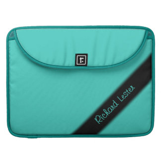 Turquoise Personal Sleeve For MacBook Pro