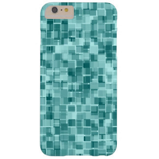 Turquoise pixels barely there iPhone 6 plus case