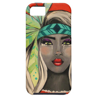 Turquoise Princess iPhone 5 Cover