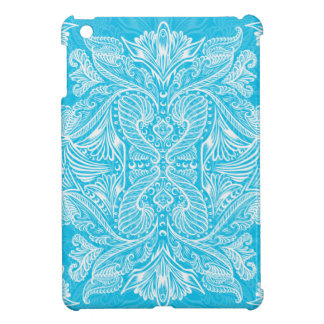 Turquoise, Raven of mirrors, dreams, bohemian Cover For The iPad Mini