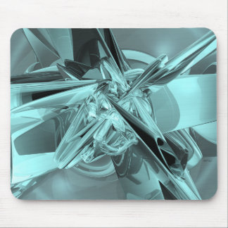 Turquoise Reflections Mouse Pad
