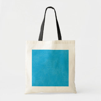 Turquoise Retro Grunge Scratched Texture Canvas Bag