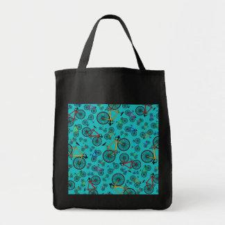 Turquoise road bikes bag
