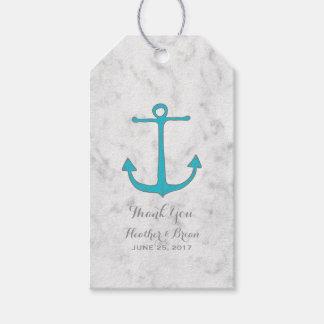 Turquoise Rustic Anchor Wedding