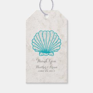 Turquoise Rustic Seashell Wedding