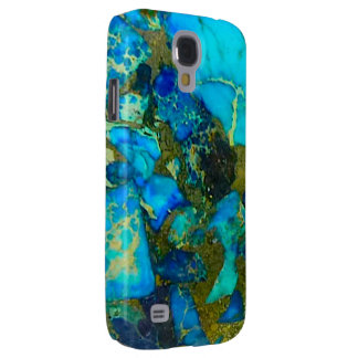 """""""Turquoise Samsung Galaxy S4 Case"""" Samsung Galaxy S4 Cover"""