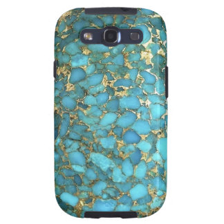 """""""Turquoise Samsung Phone Case"""" Galaxy SIII Case"""