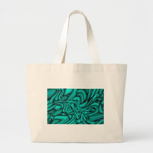 Turquoise Sculpture Tote Bag