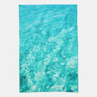 Turquoise Sea Ocean Kitchen Towel