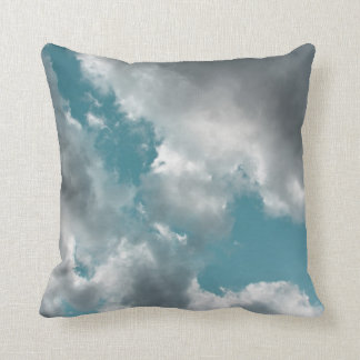 Turquoise Skies Throw Pillow