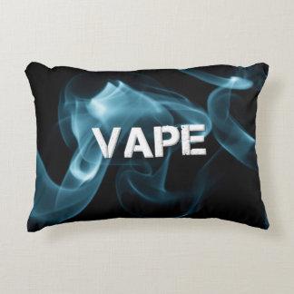 Turquoise Smoke Vape On Decorative Cushion