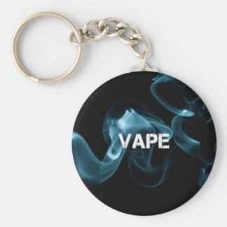Turquoise Smoke Vape On Key Ring