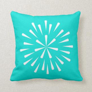 Turquoise Star Cushion