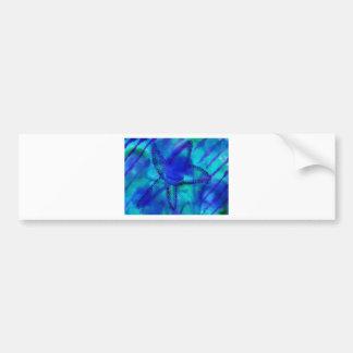 Turquoise Starfish Bumper Sticker