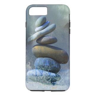 Turquoise Stone Zen Formation Misty Ocean Spray iPhone 8 Plus/7 Plus Case