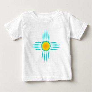 Turquoise Sun God Baby T-Shirt