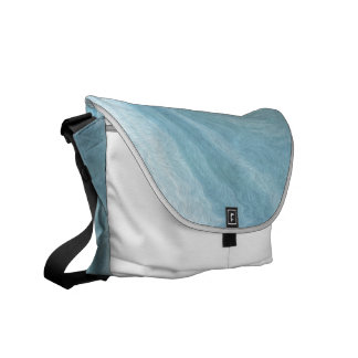 Turquoise Swirl Courier Bags