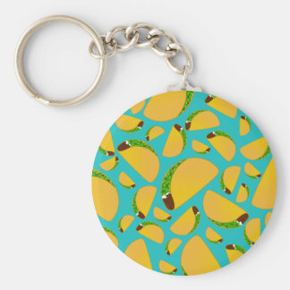 Turquoise tacos keychains