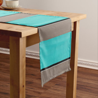 Turquoise Taupe Modern