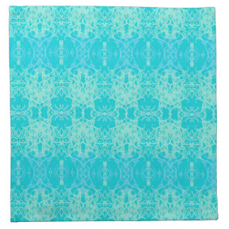 turquoise towel napkin