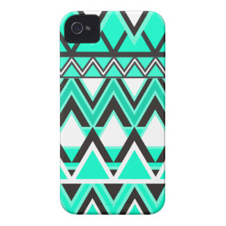 Turquoise Tribal Pattern Case-Mate iPhone 4 Case