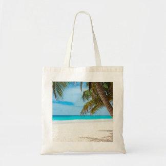 Turquoise Tropical Beach Bags