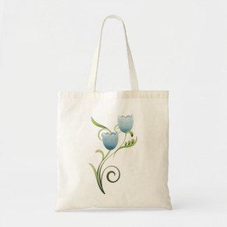 Turquoise Tulips Bag