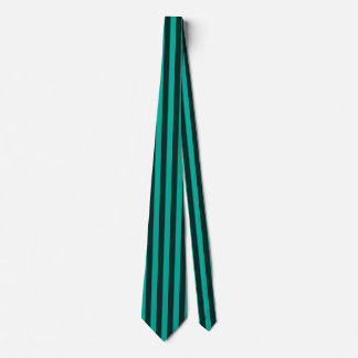 Turquoise Vertical Stripes Customize This! Tie