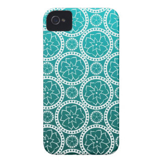Turquoise Victorian Damask Blackberry Bold Covers